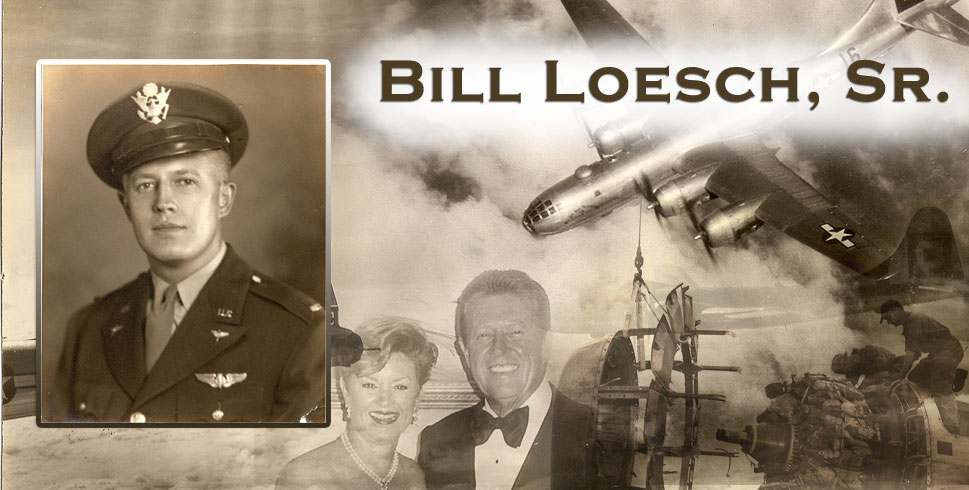 Bill Loesch, Sr. (WWII Military Service)